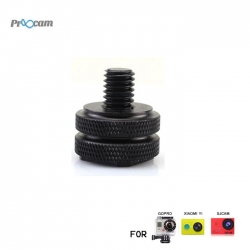 Proocam Pro-F160 Screw Thread Hot Shoes Mount Convert for Gopro Hero Action camera