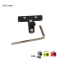Proocam Pro-F178-BK Steel Aluminium Bicycle Saddle Clamp Mount for Gopro Hero (Black)