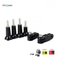 Proocam Pro-J005 3-way Pivot Arm Assembly Extension 4x Thumb Knob for Gopro Hero 4, 3, 2,1