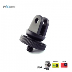 Proocam Pro-J060B Screw Tripod Mount Adapter converter to Gopro for SJCAM , MiYI , Sony Action Camera