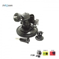 Proocam Pro-J070 Suction Cup with Ball head Tripod Mount for Gopro Hero , SJCAM , MI YI Action Camera