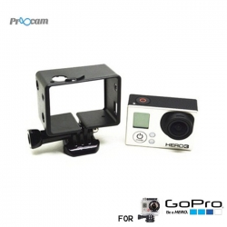 Proocam Pro-J072 BacPac Frame with Assorted Mounting Hardware for Gopro Hero 4,3
