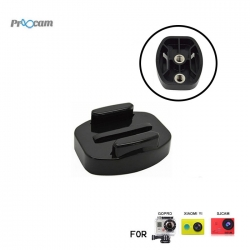 Proocam Pro-J121 Flat Buckle Universal 1/4inch Thread for Camera Tripod for Gopro Hero Action camera