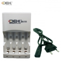 DBK Quick Charger for AA /AAA rechargeable Battery(6 Hour Charger)