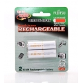 Fujitsu Rechargeable AA Ready to use Battery 2000mah (min 1900mah) 2pcs Pack (HR-3UTAEX(2B)