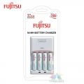 Fujitsu AA 2000mah 4pcs Basic Rechargeable Battery Charger Set ( FCT343-CEFX(CL)