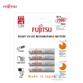Fujitsu Rechargeable AAA Ready to use Battery 800mah (2100 Cycle) 4pcs Pack HR-4UTCEX(4B)