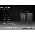 Proocam Canon Battery Lp-E12 for Canon EOS-M , 100D Camera