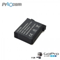 Proocam Battery rechargeable for GOPRO 4 4+ Plus (AHDBT-401) - One Years Warranty
