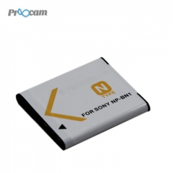 Proocam Sony BN-1 NP-BN1 rechargeable Battery for Sony DSC-W810