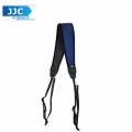 JJC NS-CB Quick Release Professional Anti-Slip Shoulder Slider Strap for DSLR Camera Belt - Blue