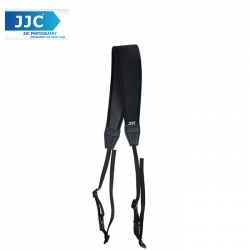 JJC NS-CBK Quick Release Professional Anti-Slip Shoulder Slider Strap for DSLR Camera Belt - Black
