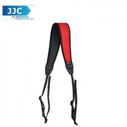 JJC NS-CR Quick Release Professional Anti-Slip Shoulder Slider Strap for DSLR Camera Belt - Red