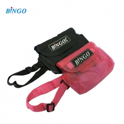 Bingo WP-035 waist Pouch waterproof bag men women messenger bags belt -Big Size (Pink)