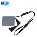JJC GC-3 Set of 3 Digital Grey white balance card , portable With strap and detachable lanyard
