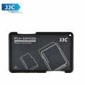 JJC MCH-SDMSD6GR Pocket Memory Card Holders fits 2 SD Cards + 4 Micro SD Cards