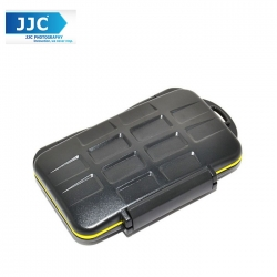 JJC MC-XQD6 Water-Resistant Storage Memory Card Case Protector For 6 XQD Cards