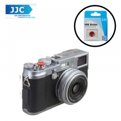 JJC SRB-C11DR Dark Red Metal Soft release button finger touch for Sony Leica Fujifilm X10 X20 X30 X100T X100