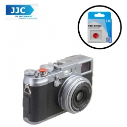 JJC SRB-C11R Red Metal Soft release button finger touch for Sony Leica Fujifilm X10 X20 X30 X100T X100