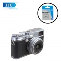 JJC SRB-C11S Silver Metal Soft release button finger touch for Sony Leica Fujifilm X10 X20 X30 X100T X100