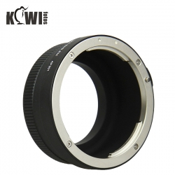 KIWIFOTOS CANON EOS EF lens metal ring to Sony converter NEX E-M A6000 , A7 Camera Body (LMA-EOS_EM)