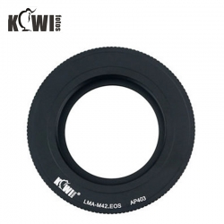 KIWIFOTOS Zeiss Pentax M42 Lens To Canon EOS Camera Body Mount Adapter ( LMA-M42_EOS)