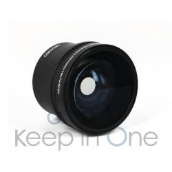KEEP CONVERSION  LENS FISH EYE 52MM 0.25X