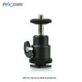 Proocam Mini Ball Head for Camera DSLR Hot shoe mount  BRK-01
