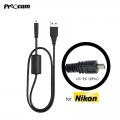 Proocam Nikon UC-E6 (8Pin) USB Data Sync Transfer Cable for Nikon Coolpix L31 ,P530 , S3300