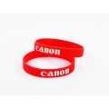 SILICONE RUBBER LENS BAND ,FLASH BAND ,WRIST BAND CANON LOGO DESIGN