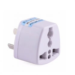 UK 3 Pin Travel Plug Socket Adapter Adaptor (China to Malaysia Plug Adaptor)
