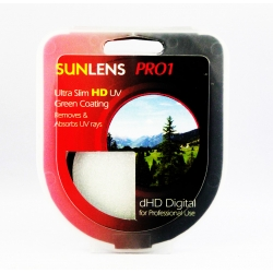 SUNLENS PRO-1 HD HMC UV GREEN FILTER 82MM