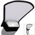 Flash diffuser softbox silver and white reflector for Speedlight