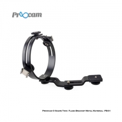 Proocam O Shape Twin Flash Bracket Metal Material-PB-01