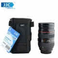 JJC DLP3 weather-resistant nylon Deluxe Pouch Lens Case For DSLR Lens (160mm)