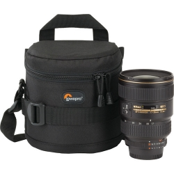 Lowepro Lens Case 11 X11 cm ( Black) for DSLR Camera Lens