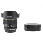 Samyang 8mm T3.8 VDSLR Fish-Eye Lens (Canon EOS)