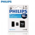 Philips 16GB Micro TF SD Memory Card Class 10 C10 with Adapter and Flashdrive*