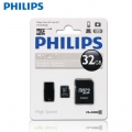 Philips32GB Micro TF SD Memory Card Class 10 C10 with Adapter and Flashdrive**
