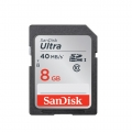 SanDisk 8Gb Ultra SDHC Class 10/UHS-1 40MB/S Speed (Malaysia Warranty ) -SDSDUNC-008G-GN6IN