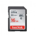 SanDisk 16Gb Ultra SDHC Class 10/UHS-1 80MB/S Speed (Malaysia Warranty ) -SDSDUNC-016G-GN6IN