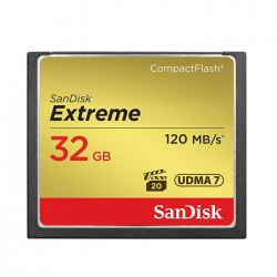 Sandisk 32Gb Extreme Compact Flash CF Memory Card 120mb/s (Malaysia Warranty) SDCFXS-032G-X46