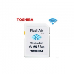 Toshiba FlashAir Wifi Card SDHC 32GB Class 10 Photo Memory card