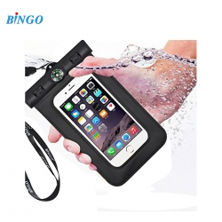 Bingo 6 inch for Iphone 6 Plus Waterproof Case WP-6BK -Black