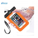 Bingo 6 inch for Iphone 6 Plus Waterproof Case WP-6OR -Orange