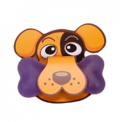 Soft Dog Bone Style Mouse Pad Wrist Rest - Purple
