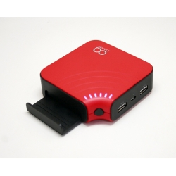 Oaxis Xtus P-10 Red Mobile Powerbank 10400Mah - Red (Original)
