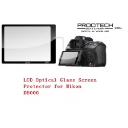 PROOTECH LCD Optical Glass Screen Protector for Nikon D5000
