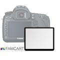 LCD Optical Glass Screen Protector for Canon EOS 1000D