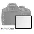 LCD Optical Glass Screen Protector for Nikon D5200